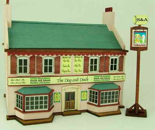 144th scale 'Dog and Duck' English Pub