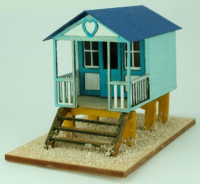 144th scale Beach Hut Kit