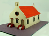 144th scale Village School Kit