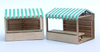 144th Market Stalls Kit