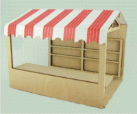 48th scale Market Stall Kit