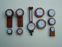 48th scale Clock and Barometer Collection