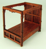 48th scale Tudor tester Double bed kit