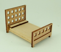 48th scale Modern Double bed kit