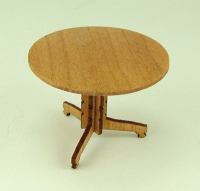 48th scale Traditional Round Table Kit