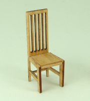 48th scale set of two Mackintosh style Chairs kit
