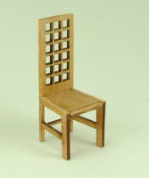 48th scale set of two Modern style High Back Chairs Kit