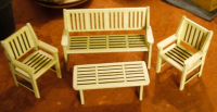 12th scale English Garden Furniture Set Kit (Bass)