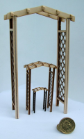 12th scale English Garden Arch Kit