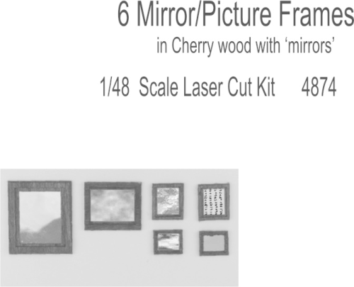48th scale Mirror or Picture Frame