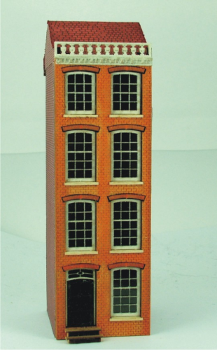 144th scale Amsterdam Canal House Kit - Cornice Facade House