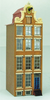 144th scale Amsterdam Canal House Kit - Neck Gabled with Volutes