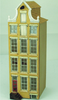 144th scale Amsterdam Canal House Kit - Pinnacled Neck Gabled House