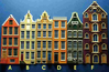 All six 144th scale Amsterdam Canal House Kits - 6 for the price of 5