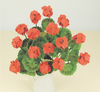 12th scale Red Geraniums kit