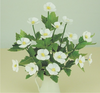 12th scale White Japanese Anenomes Kit