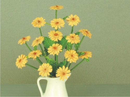 12th scale Light Yellow Gerbera kit