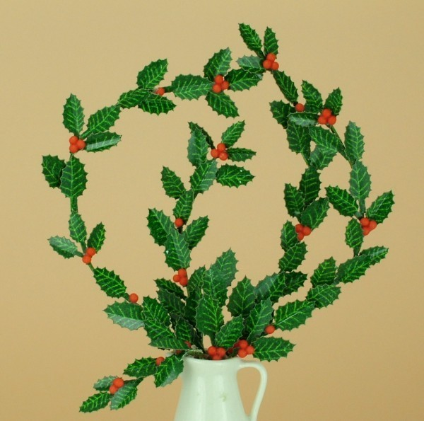 New 12th scale laser cut holly leaves kit templewood miniatures new 12th scale laser cut holly leaves kit mightylinksfo