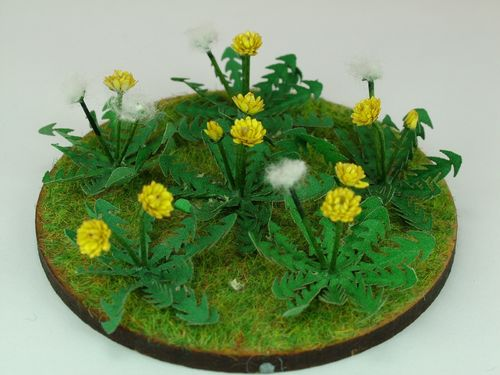 NEW - 12th scale laser cut Dandelion Kit