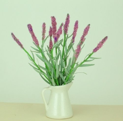 12th scale Lavender stems and leaves kit
