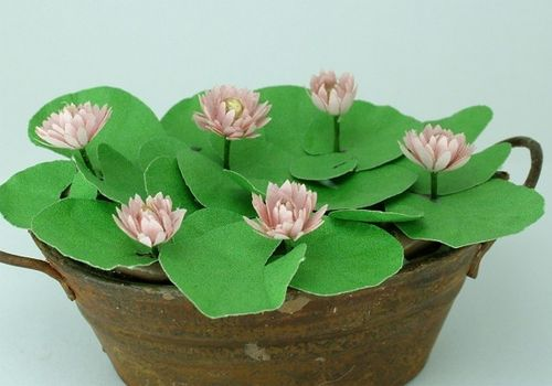 12th scale light pink water lily kit