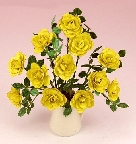12th scale Yellow Rose kit